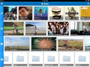 Revamped MiMedia Mobile App Design