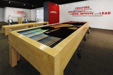 Lowe's Interactive Table