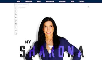 My Sharona Website