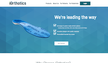 iOrthotics Podiatry Website